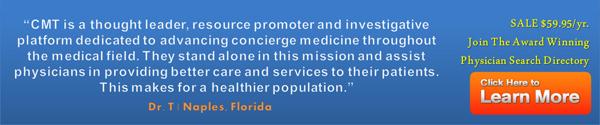 concierge medicine doctor search