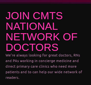 Join Cmt S Directory Of Physicians Concierge Medicine Today