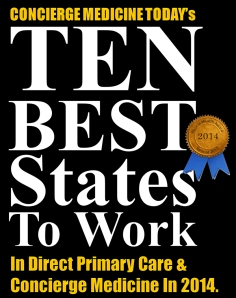 ten best places direct primary care