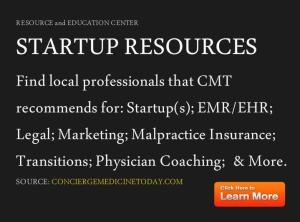 concierge medicine startup business