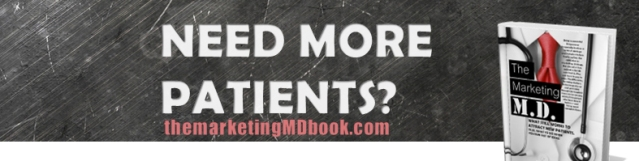 An Amazon Kindle Bestseller, ranked #12 -- On Sale $11.95 -- We all search for shortcuts. We all secretly hope there is a backdoor strategy to acquire new patients. Maybe there's an advertisement we haven't used yet –there's not. The secret to marketing and acquiring new patients is that there is no secret. It's simple purchases, a written budget and a discerning marketing plan that involves knowing your audience, where they are, what they want, and how you can create informative pattern-interruptions that make you the obvious healthcare provider for them …for life!