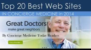 best web sites in concierge medicine