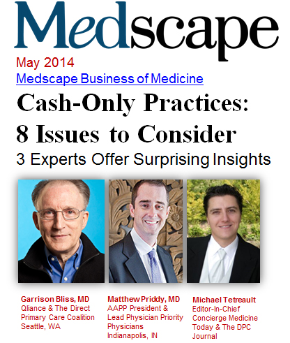 medscape may 2014 cash only practice