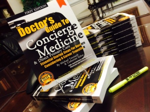 The Doctor's Guide to Concierge Medicine (nearly 400 pages of industry insight plus, over two dozen physician contributions compiled in one book) -- On Sale $129.95 (Reg. $189.95)