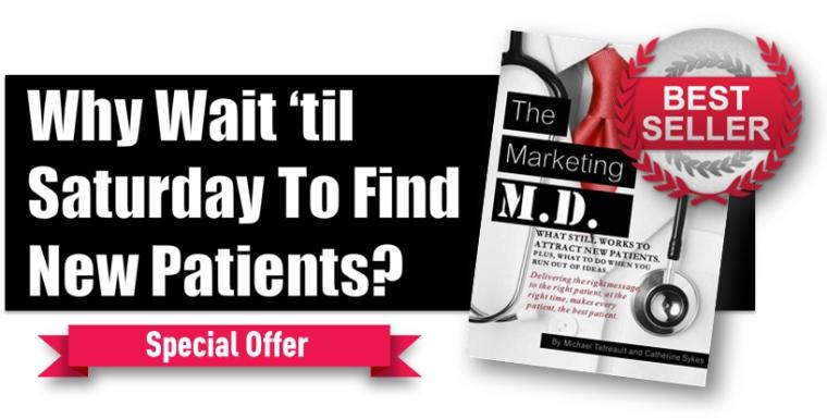 marketing md book ad