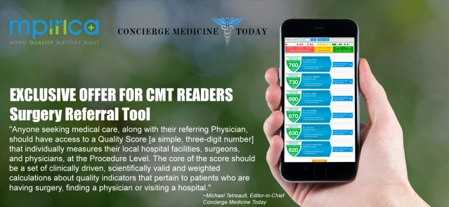 CLICK HERE TO GET YOUR LOCAL AREA Hospital/Facility and Physician/Surgeon Quality Score ... Based On Data/Evidence, not reviews or subjective referrals ...