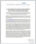 CMT, Official Position Statement ... Download PDF (Oct. 25, 2016)