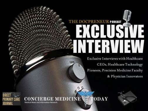 news podcast exclusive interview