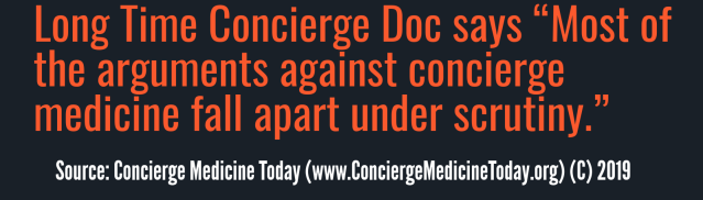 concierge medicine today 2019