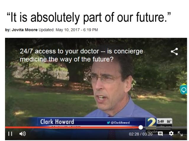 clarkhoward concierge medicine