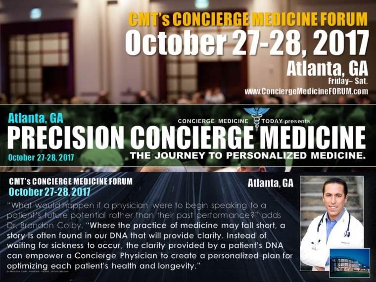 2concierge dpc precision medicine conference event forum atlanta 2017 2018_colby