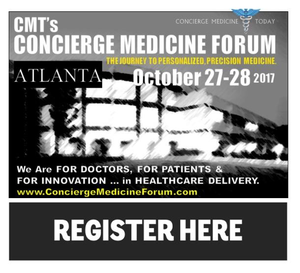 concierge medicine forum atlanta today 2017