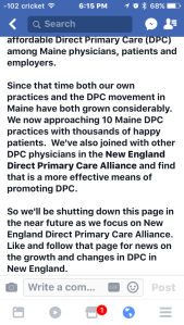 dpc fordpc direct primary care 2017