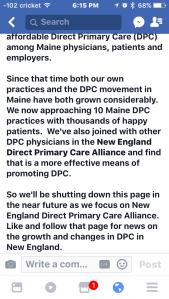 dpc fordpc direct primary care 2017