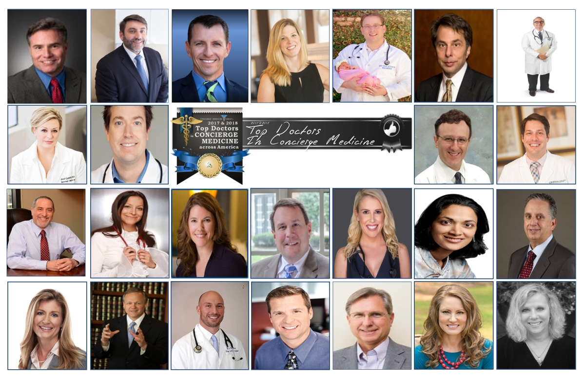 Meet The Top Doctors In Concierge Medicine [25] In 2017-'18 by Concierge Medicine Today, a Biennial Recognition