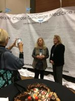 2017 CMT FORUM in ATL. | Concierge Doctor, Ellie Campbell (left) and Natalie Patierno (right) pictured were speakers at the national/international gathering of Physicians.