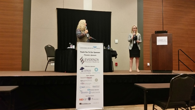 Emily Durham, MS (right) spoke to a large group of Concierge Medicine and Direct Care Physicians in Atlanta at the 2017 CMT Concierge Medicine FORUM, October 2018 -- LEARN MORE and ATTEND HERE ...