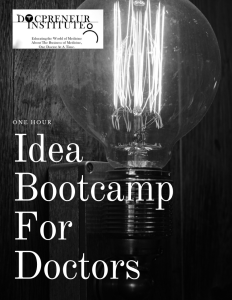 docpreneur bootcamp