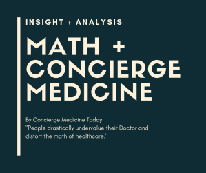 math concierge medicine statsANALYSIS