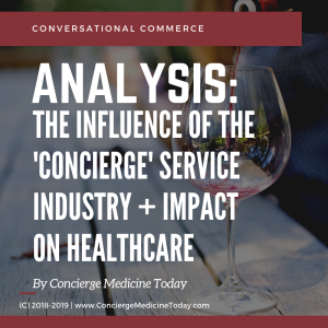 concierge service medicineCONVERSATIONAL COMMERCE