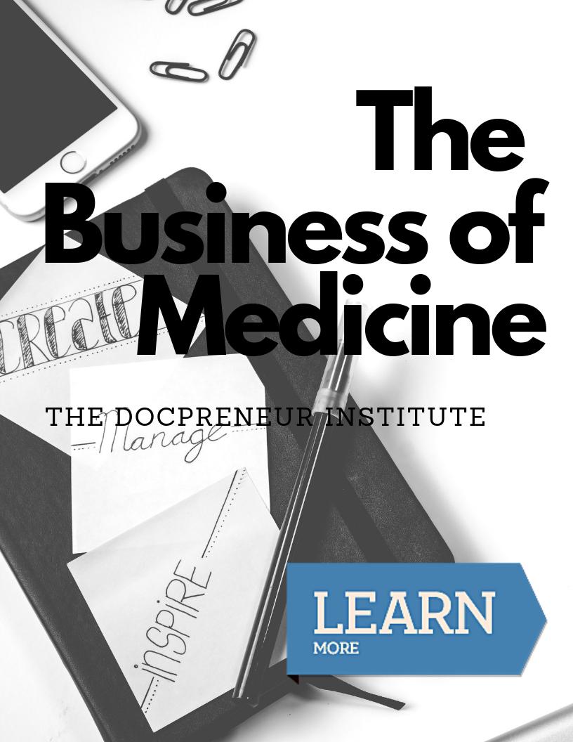 docpreneur business of medicine