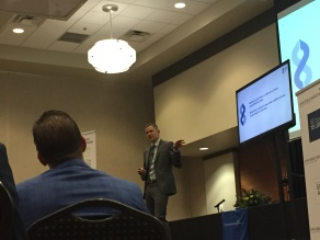 David S. Karow, M.D., Ph.D., Chief of Radiogenomics and interim CEO at HLI, spoke at the 2018 Concierge Medicine FORUM in Atlanta, GA a few weeks ago about Human Longevity and HLI's Health Nucleus.