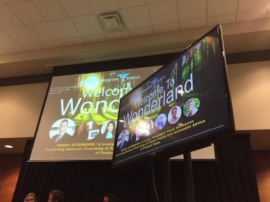 "(C) 2018 Concierge Medicine Today - ""Futurists Panel: Welcome to Wonderland"""