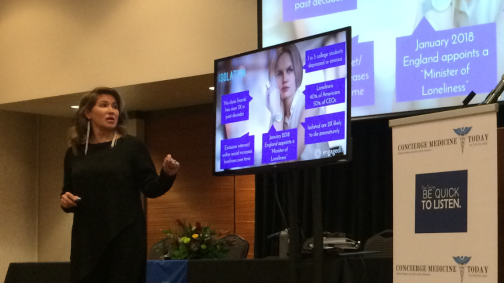 Dr. Kyra Bobinet, CEO of engagedIN and Keynote at the last Concierge Medicine FORUM in Atlanta, GA.