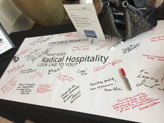 """No where in Healthcare does """"Hospitality"""" and """"Kindness"""" shine and glow more brilliantly than in Concierge Medicine. We asked the best of the best Concierge Doctors what they believe """"Radical Hospitality"""" looks like in their practice -- 2019 CONCIERGE MEDICINE FORUM coming to ATLANTA, GA USA - OCTOBER 24-26, 2019 -- LEARN MORE ...."""