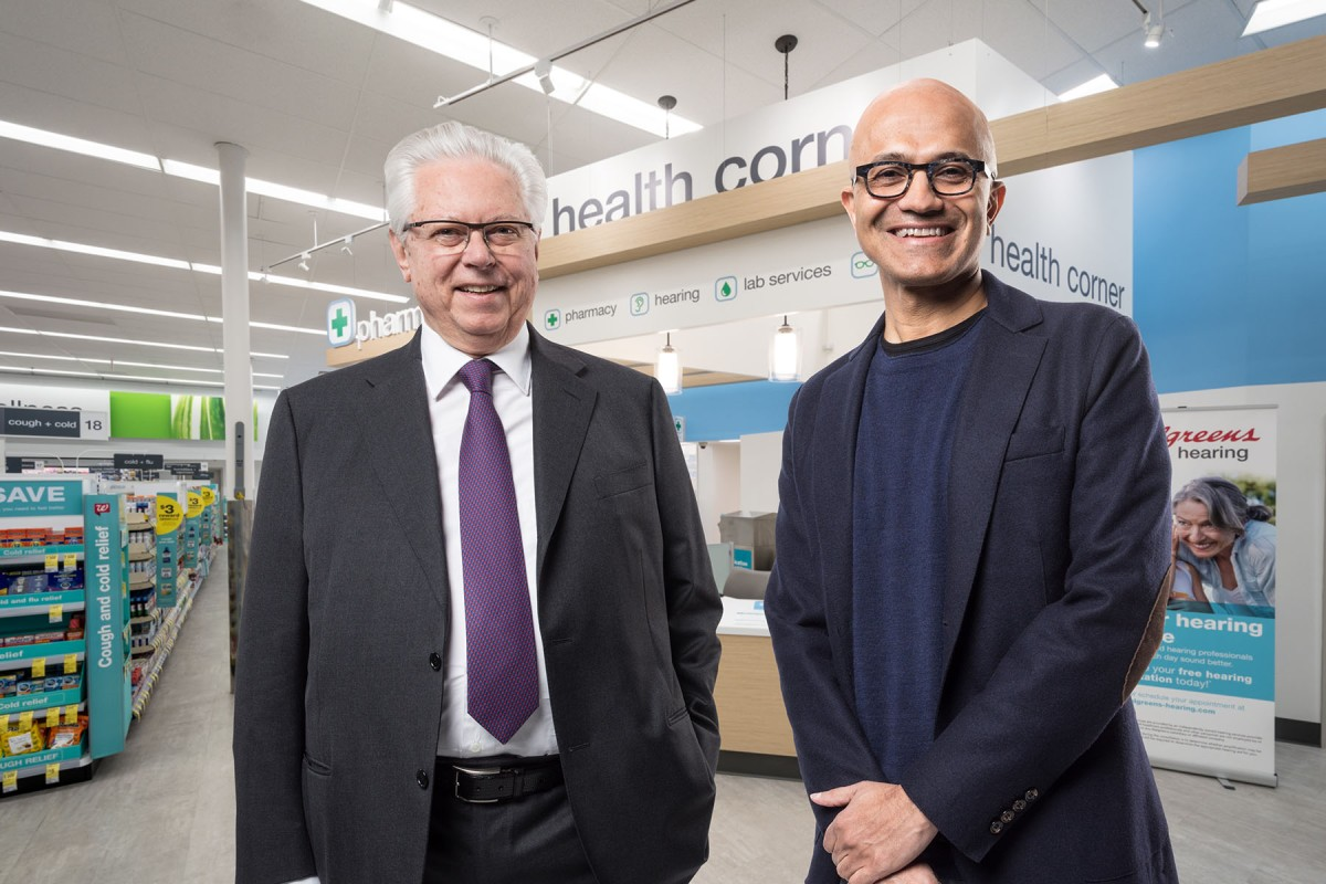Healthcare, Microsoft, WBA | Two big names are putting their heads together in a partnership aimed at innovating and improving health care.