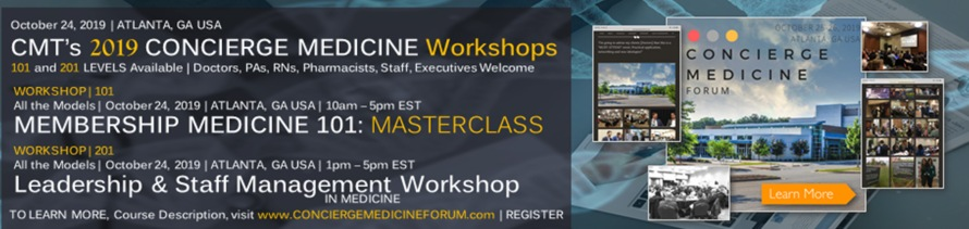 2019 concierge medicine workshop
