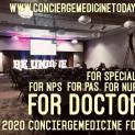 """Preparing FOR DOCTORS"" ... At the 2019 Concierge Medicine FORUM in Atlanta, GA USA, 2019-2020. Coming again to ATLANTA in 2020!"